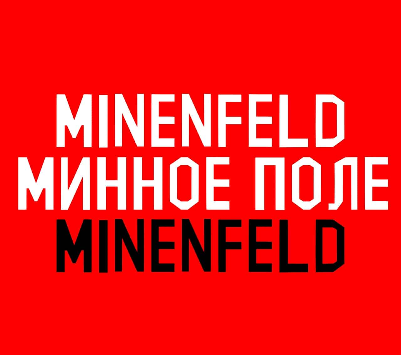 Download Minenfeld font (typeface)