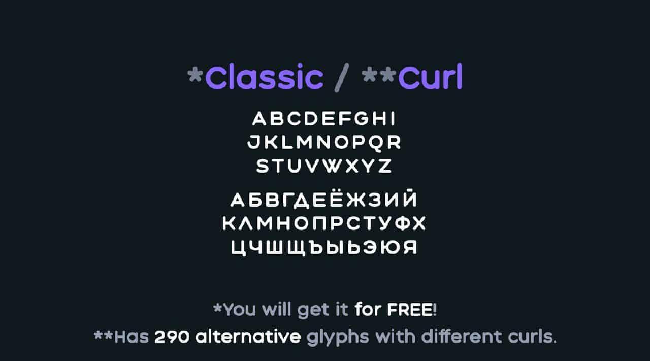 Download Aqum 2 font (typeface)
