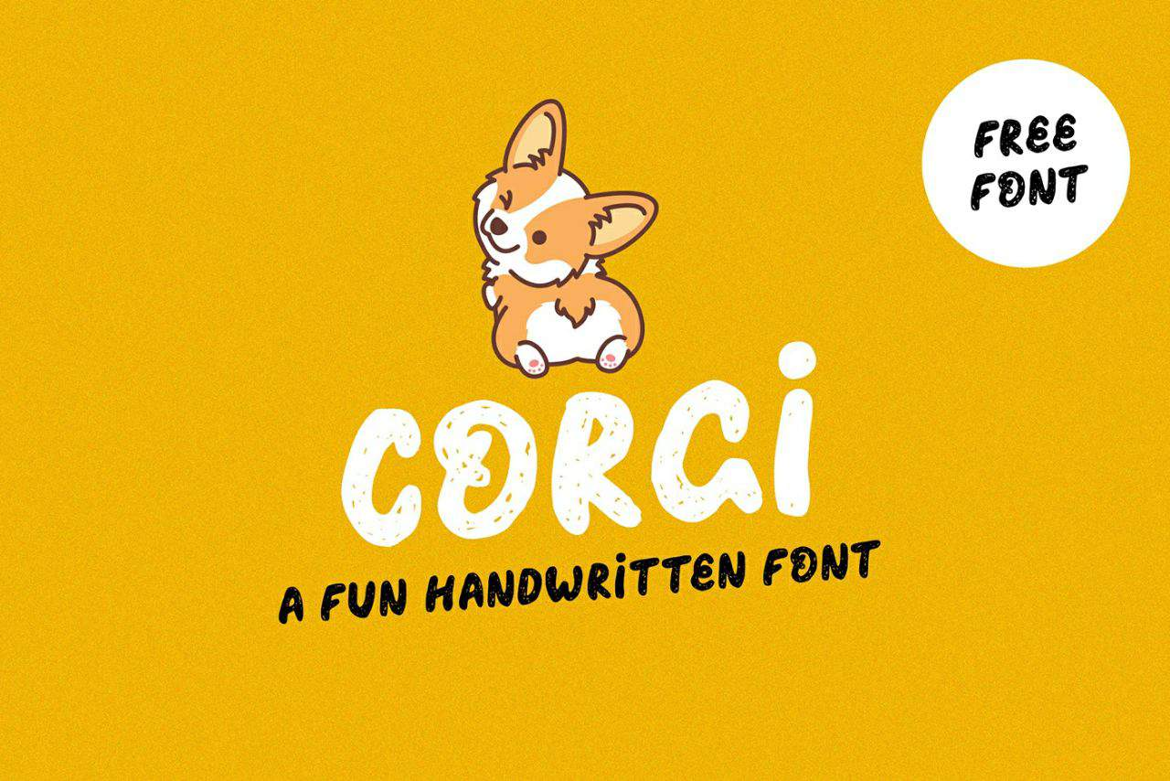Download Corgi font (typeface)