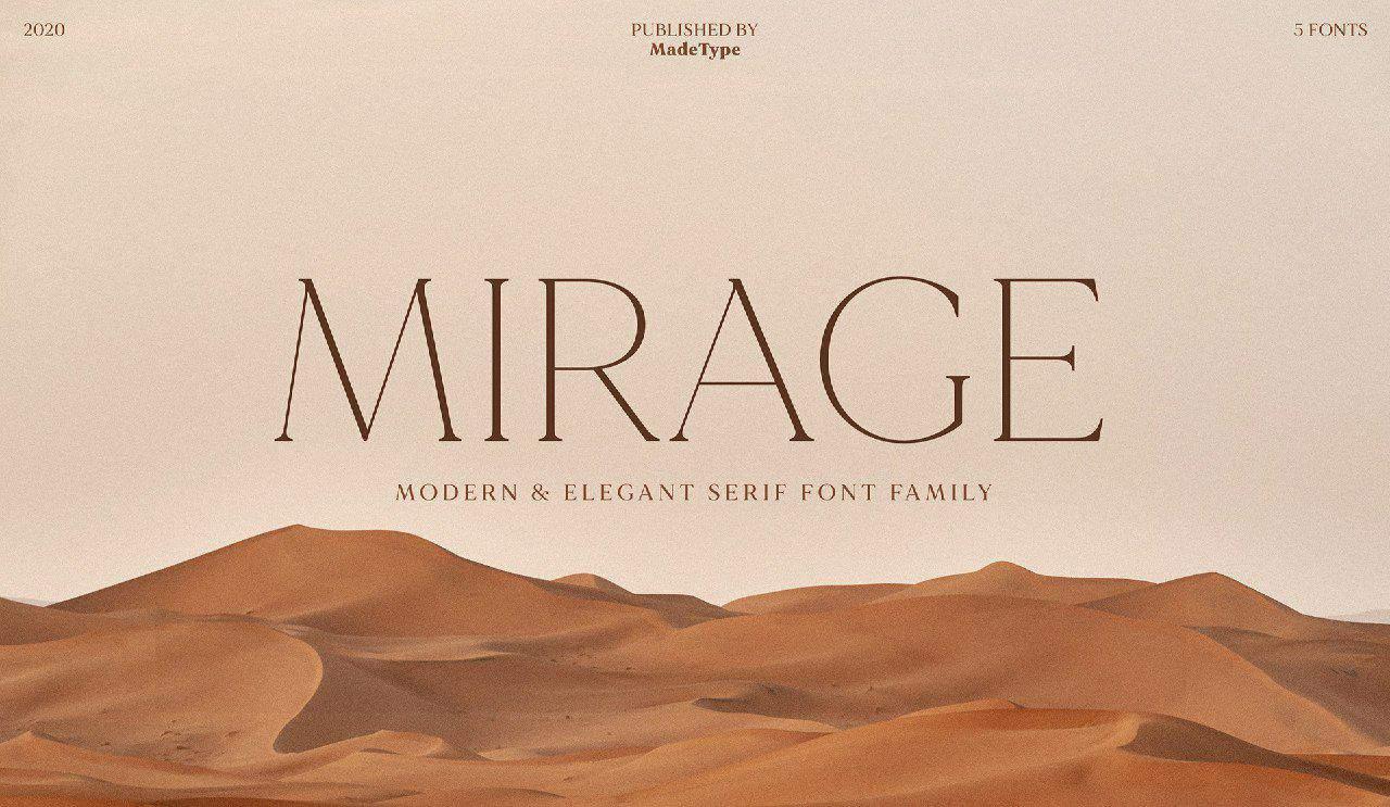 Download Mirage font (typeface)