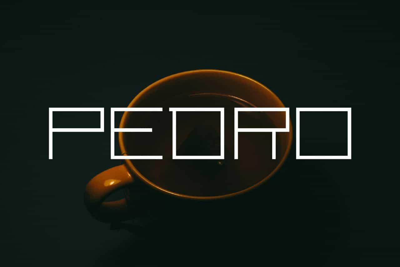 Download Pedro font (typeface)