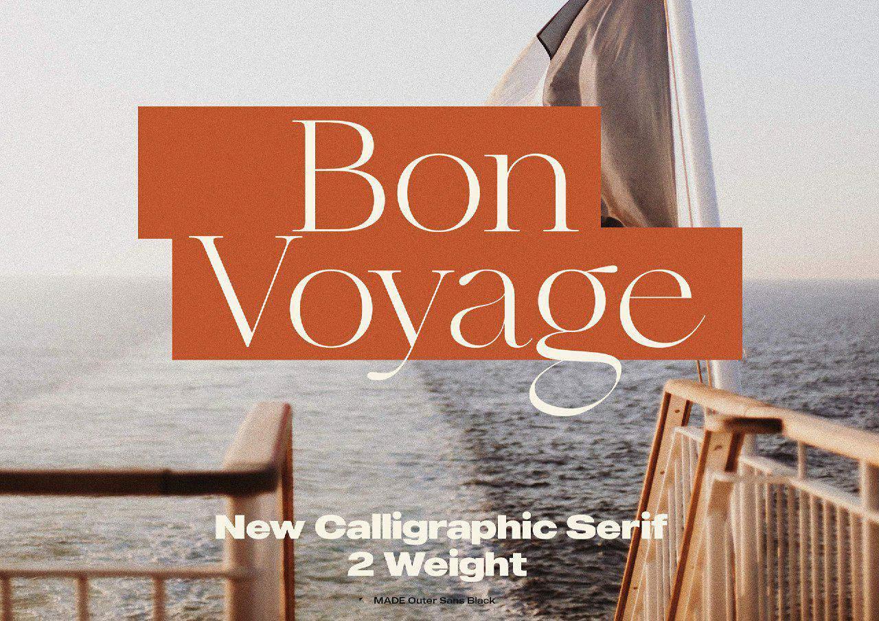 Download Bon Voyage font (typeface)