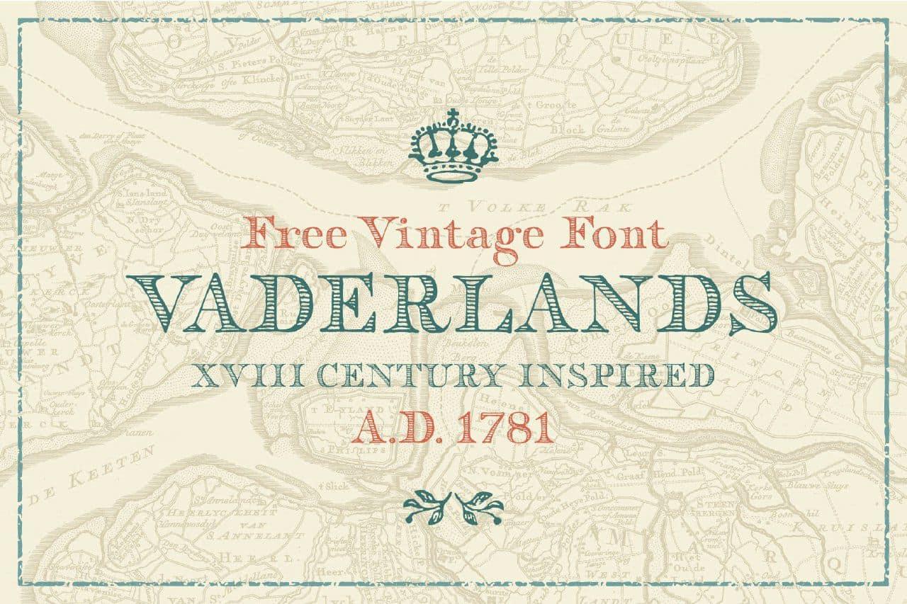 Download Vaderlands font (typeface)