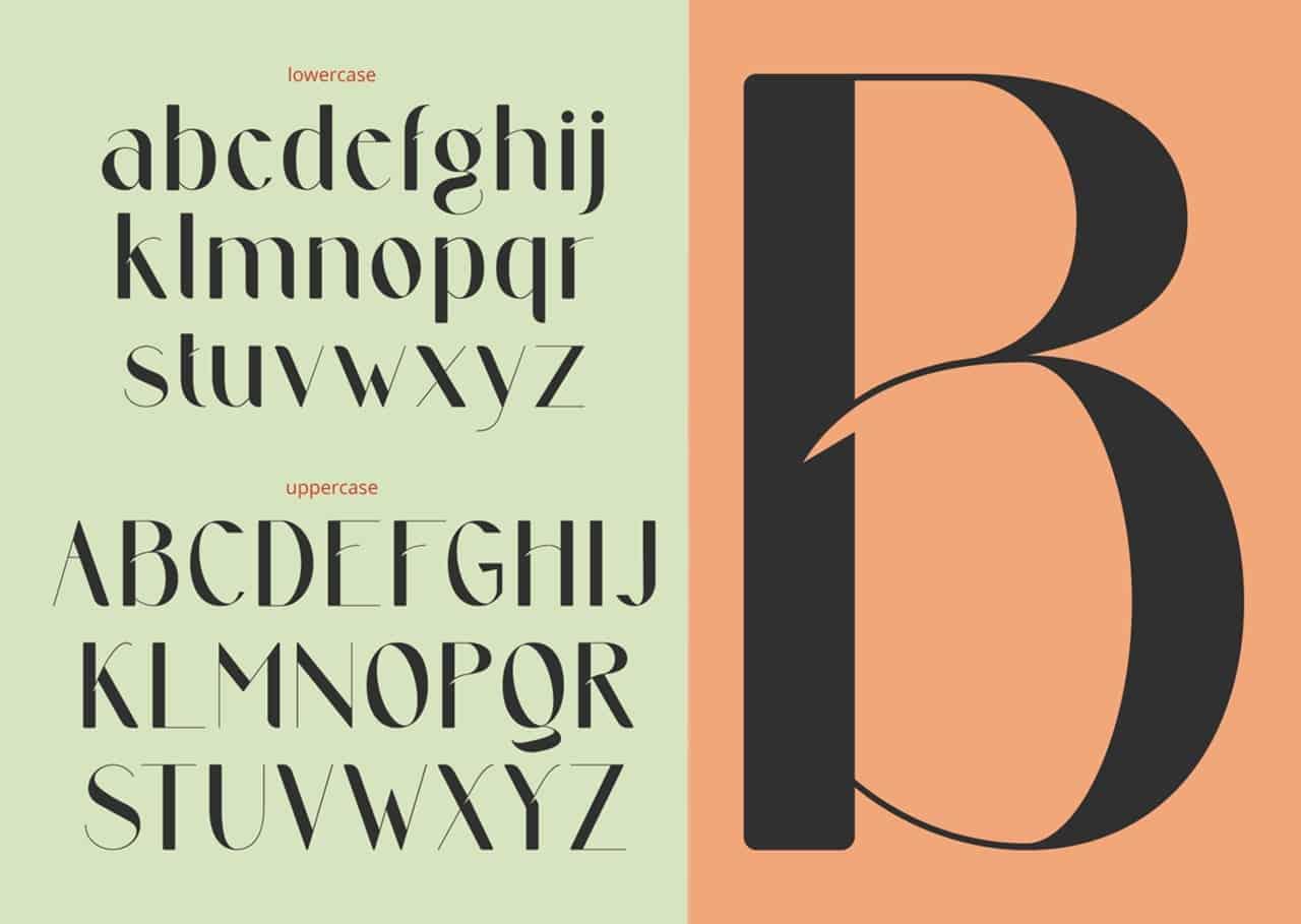 Download Passeggero font (typeface)