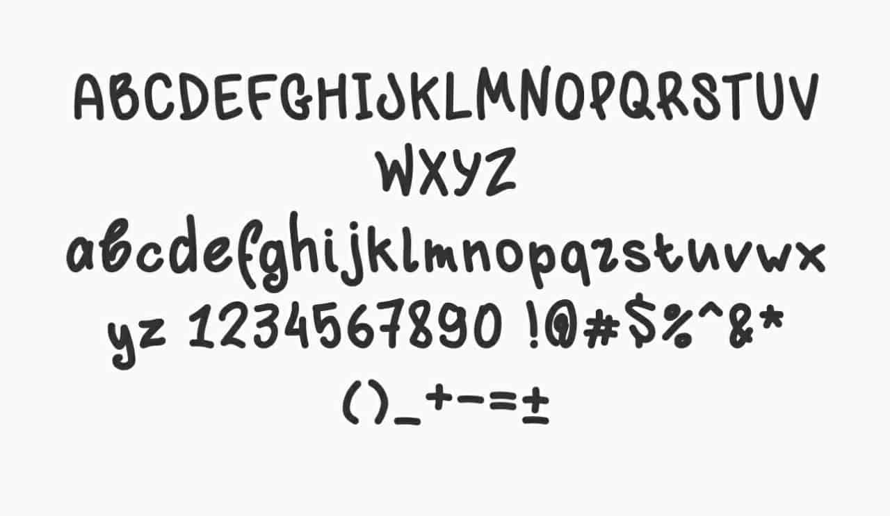 Download Klyakson font (typeface)