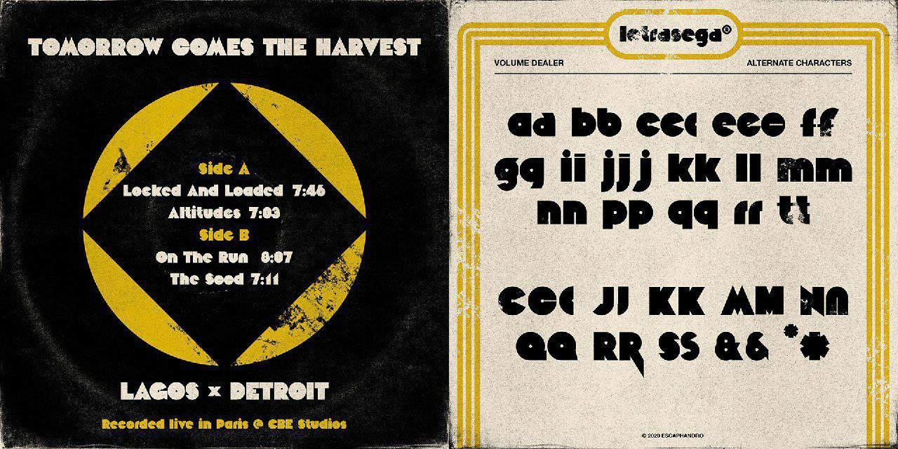 Download Volume Dealer font (typeface)