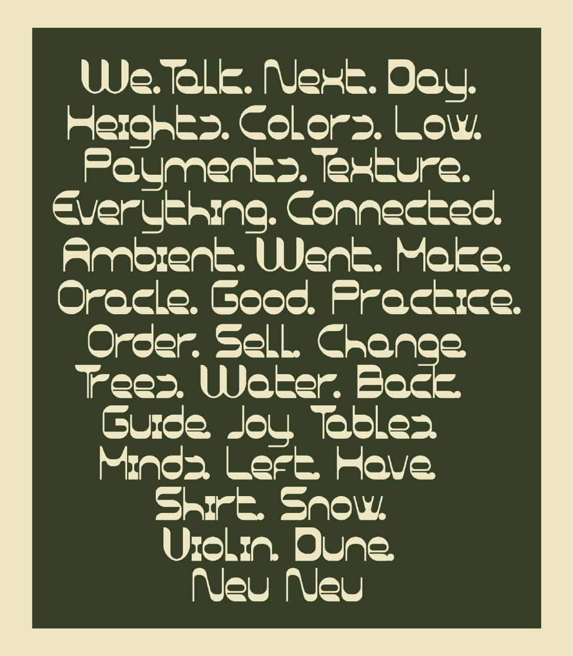Download Neu Neu font (typeface)