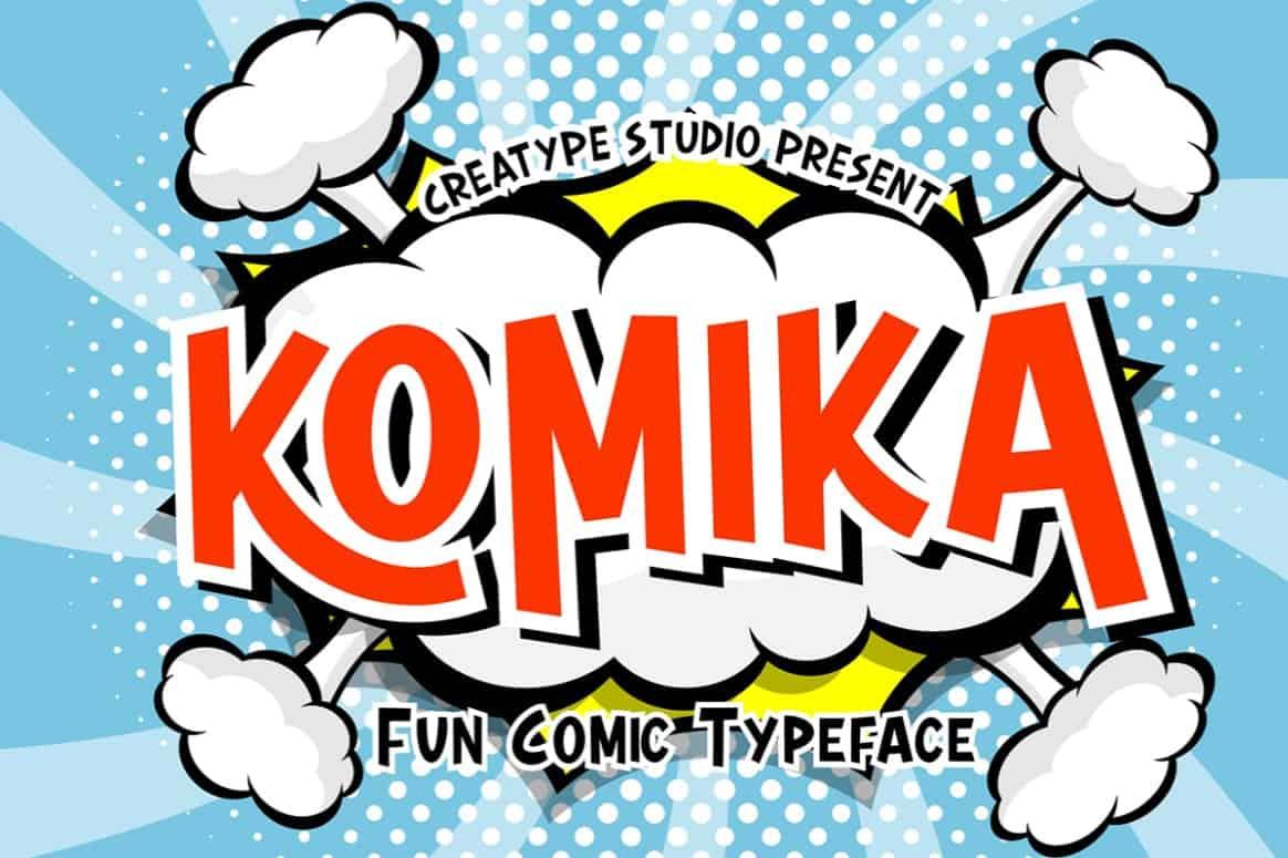 Download Komika font (typeface)