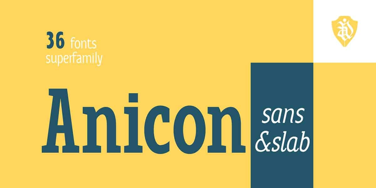 Download Anicon font (typeface)