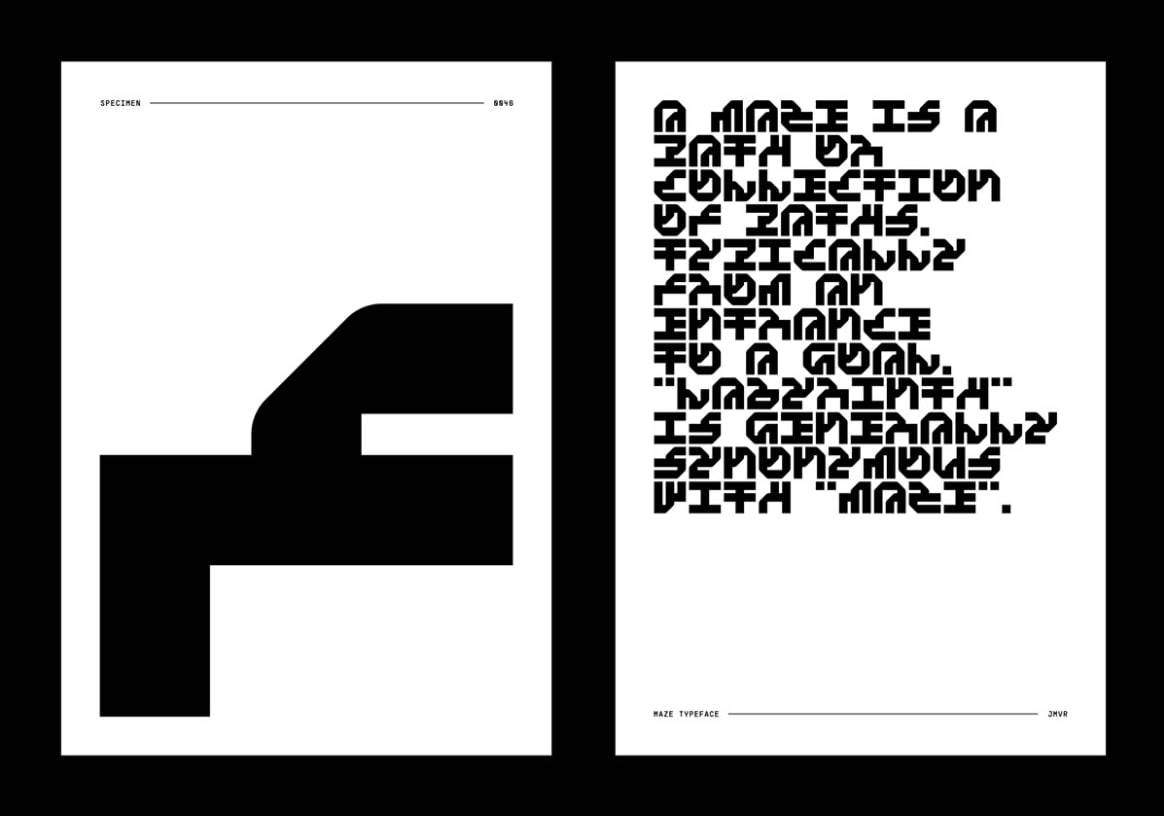 Download Maze font (typeface)