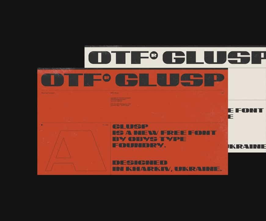 Download Glusp font (typeface)