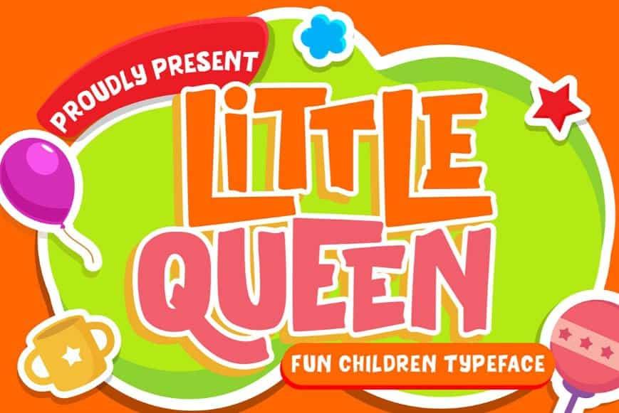 Download Little Queen font (typeface)