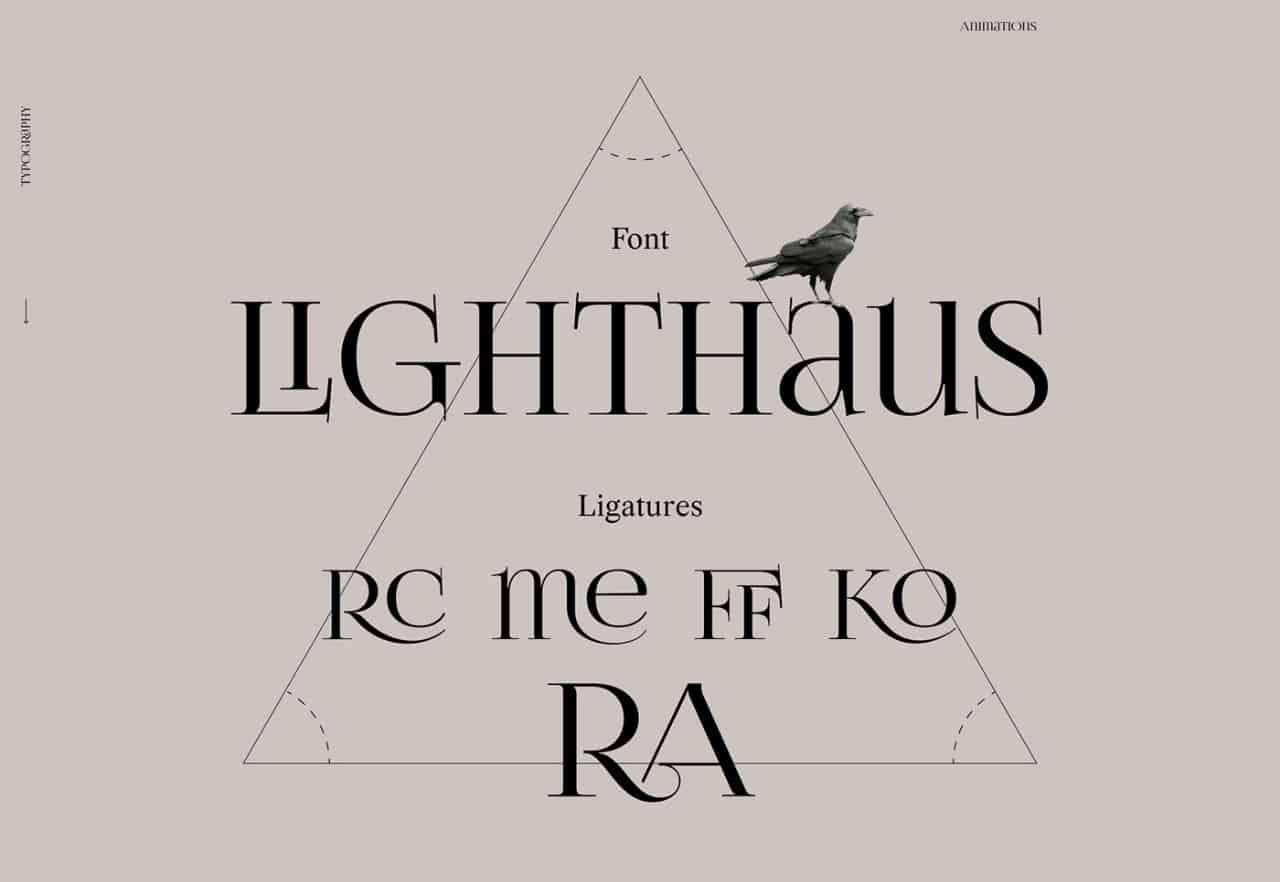 Download Lighthaus font (typeface)