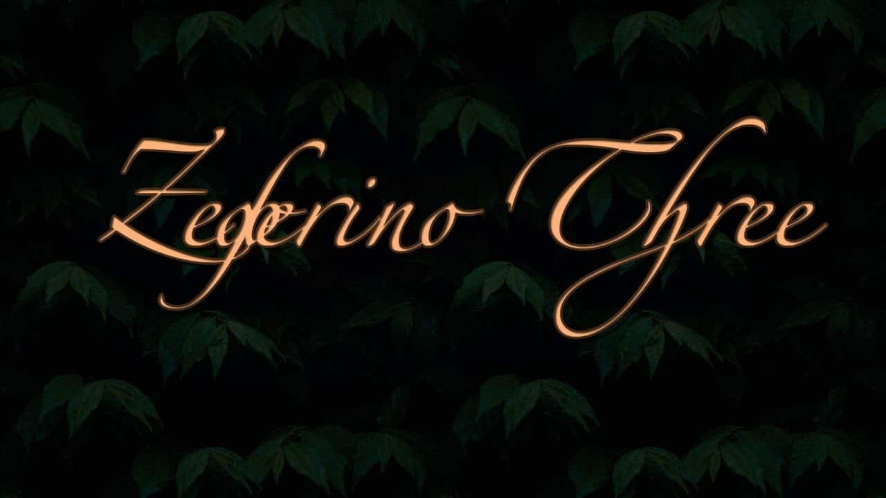 Download Zeferino Three font (typeface)