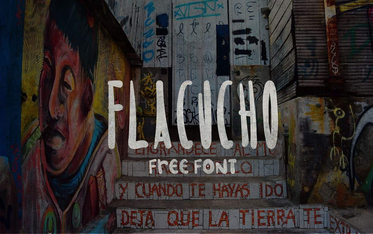 Download Flacucho font (typeface)