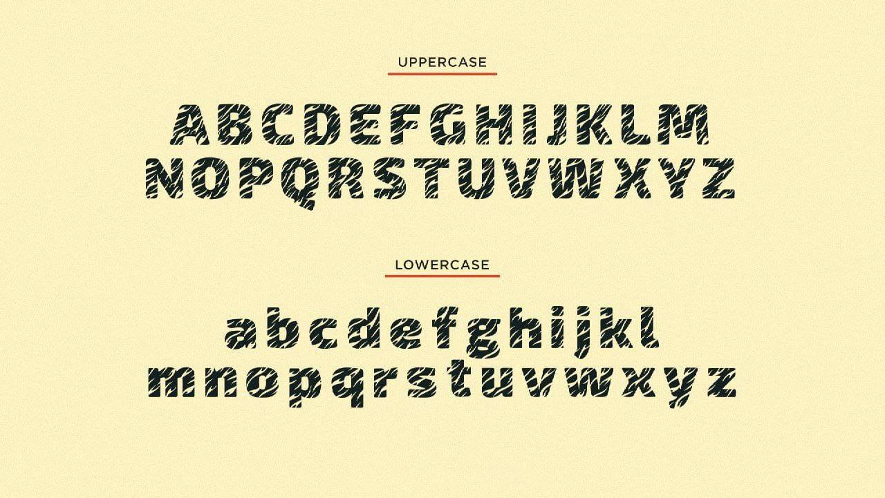 Download Tiger King font (typeface)