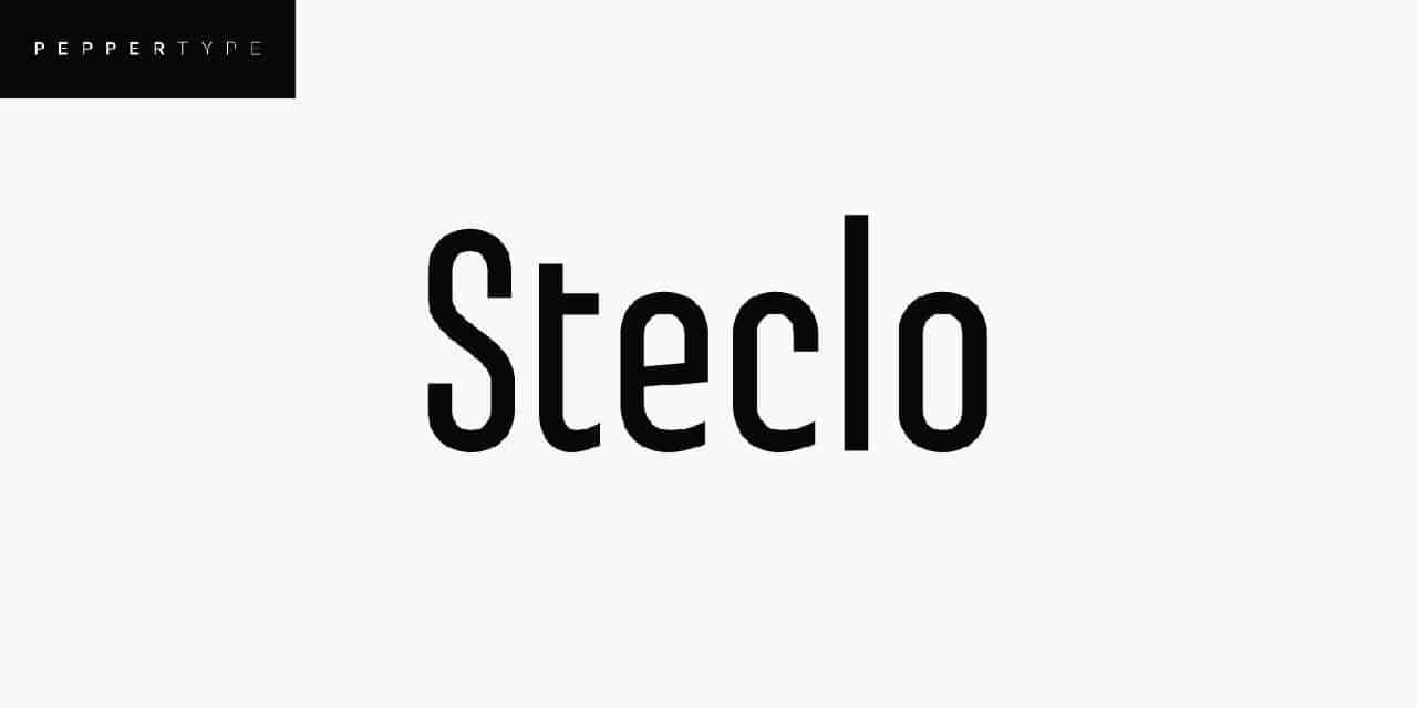 Download Steclo font (typeface)