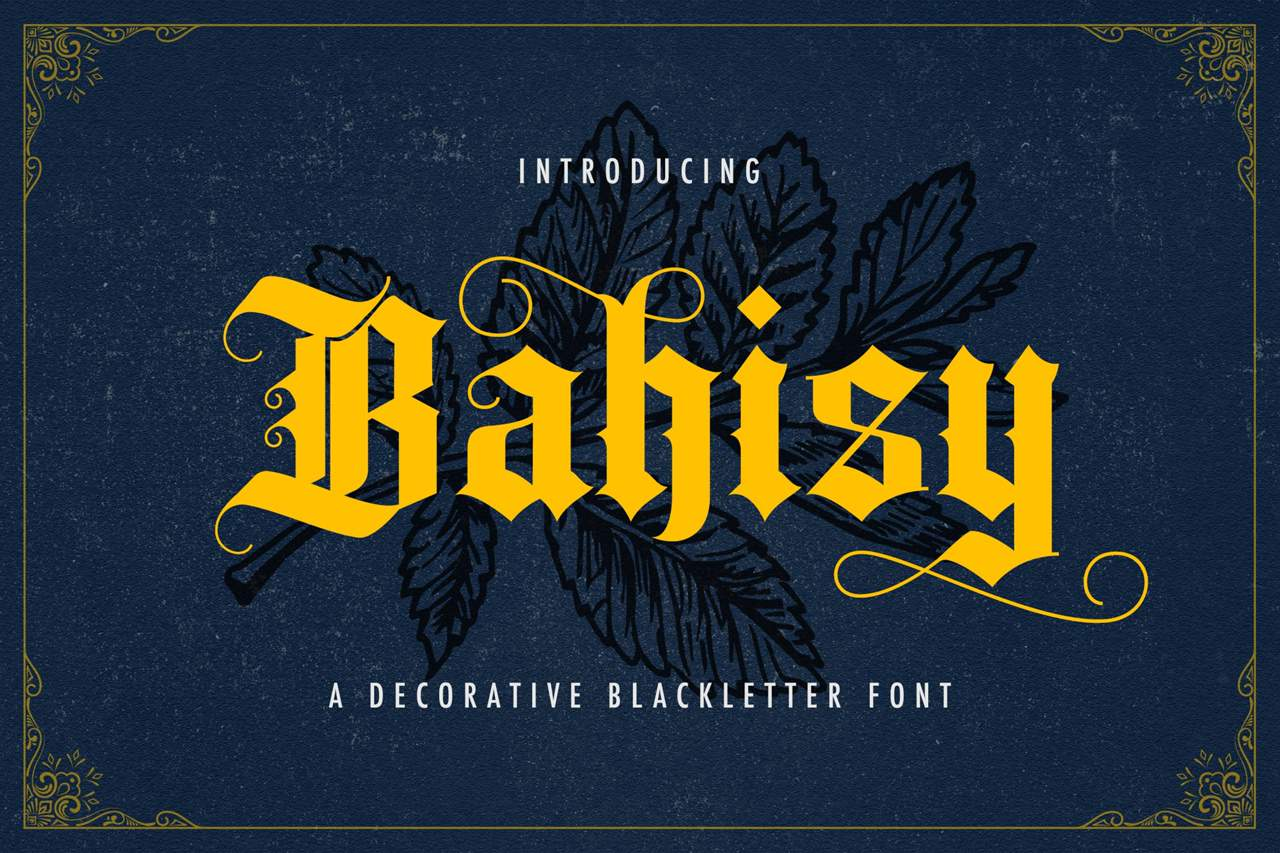 Download Bahisy font (typeface)