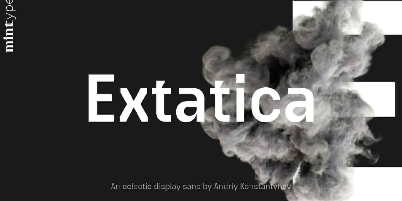 Download Extatica Light font (typeface)