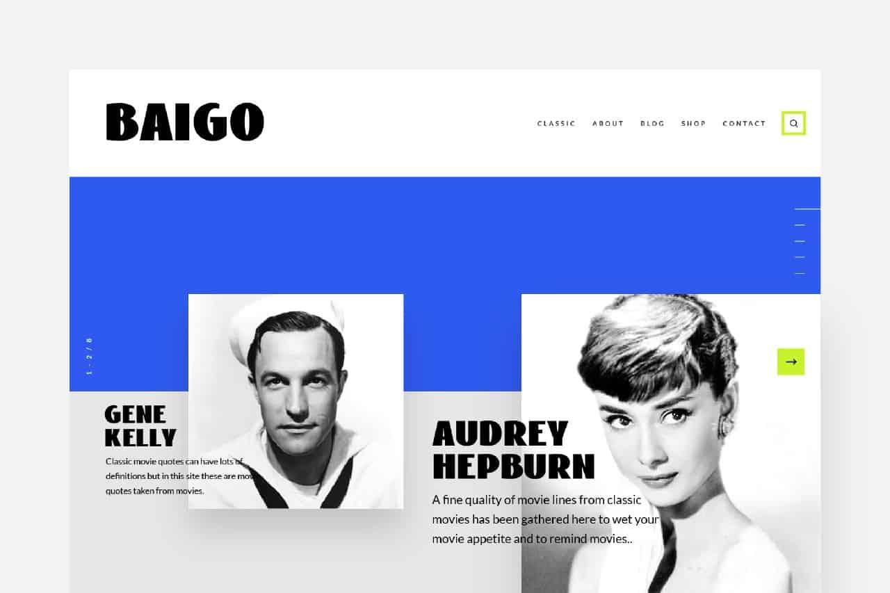 Download Baigo font (typeface)