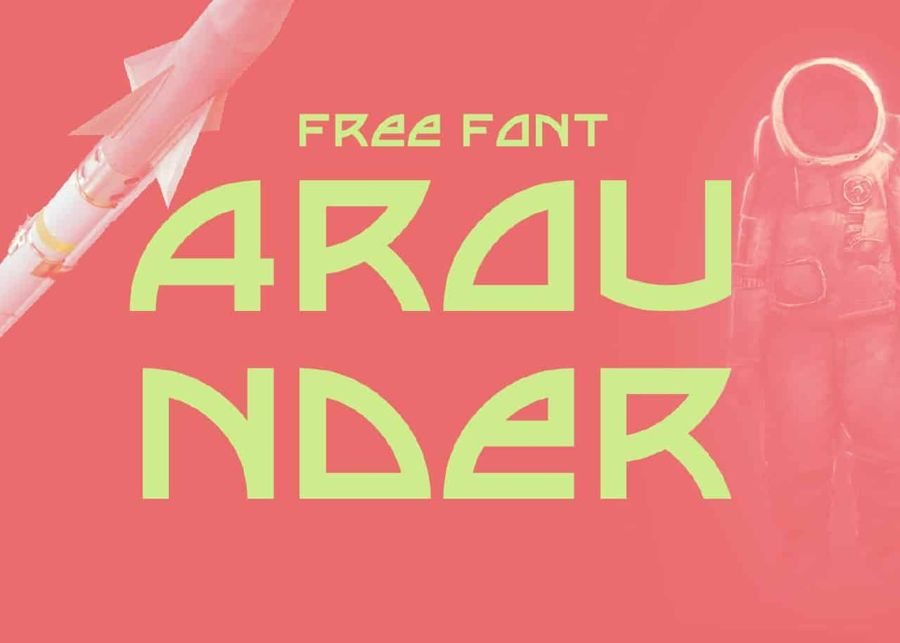 Download Arounder font (typeface)