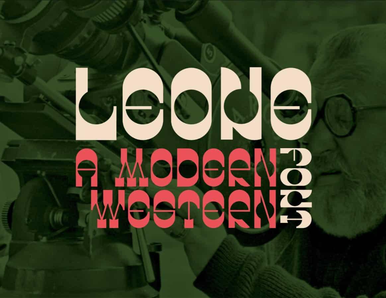 Download Leone font (typeface)