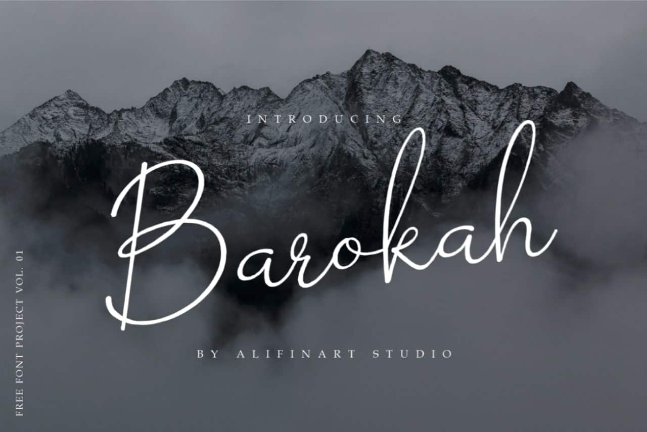 Download Barokah font (typeface)