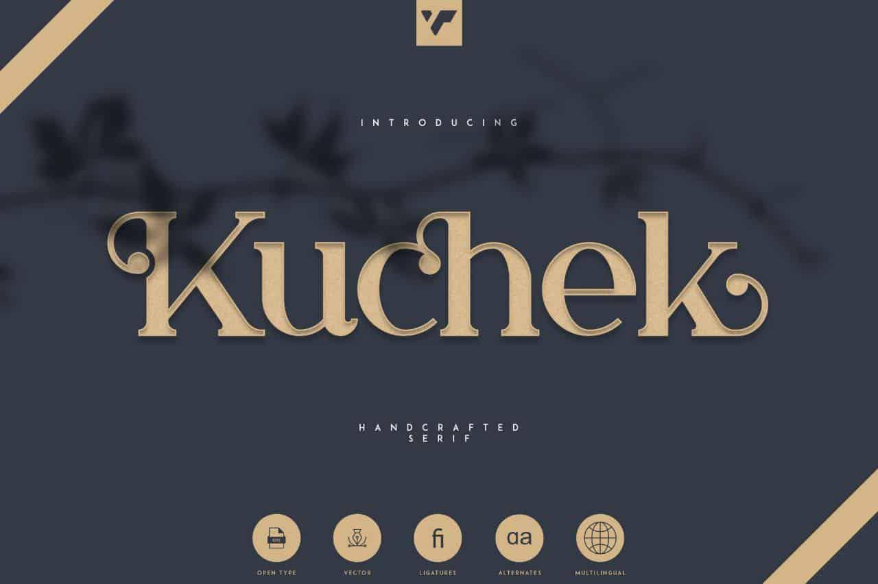 Download Kuchek font (typeface)