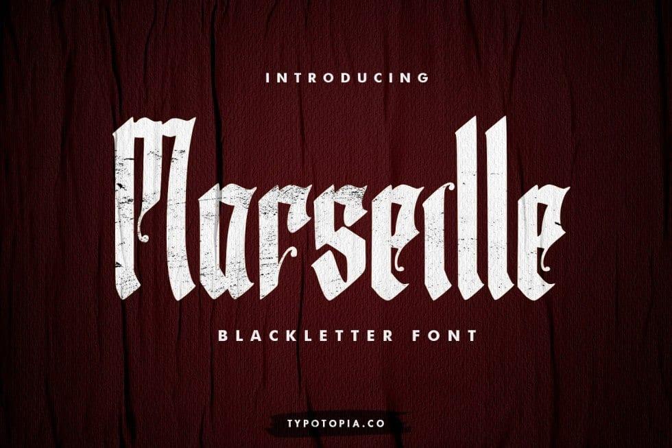 Download Marseille font (typeface)