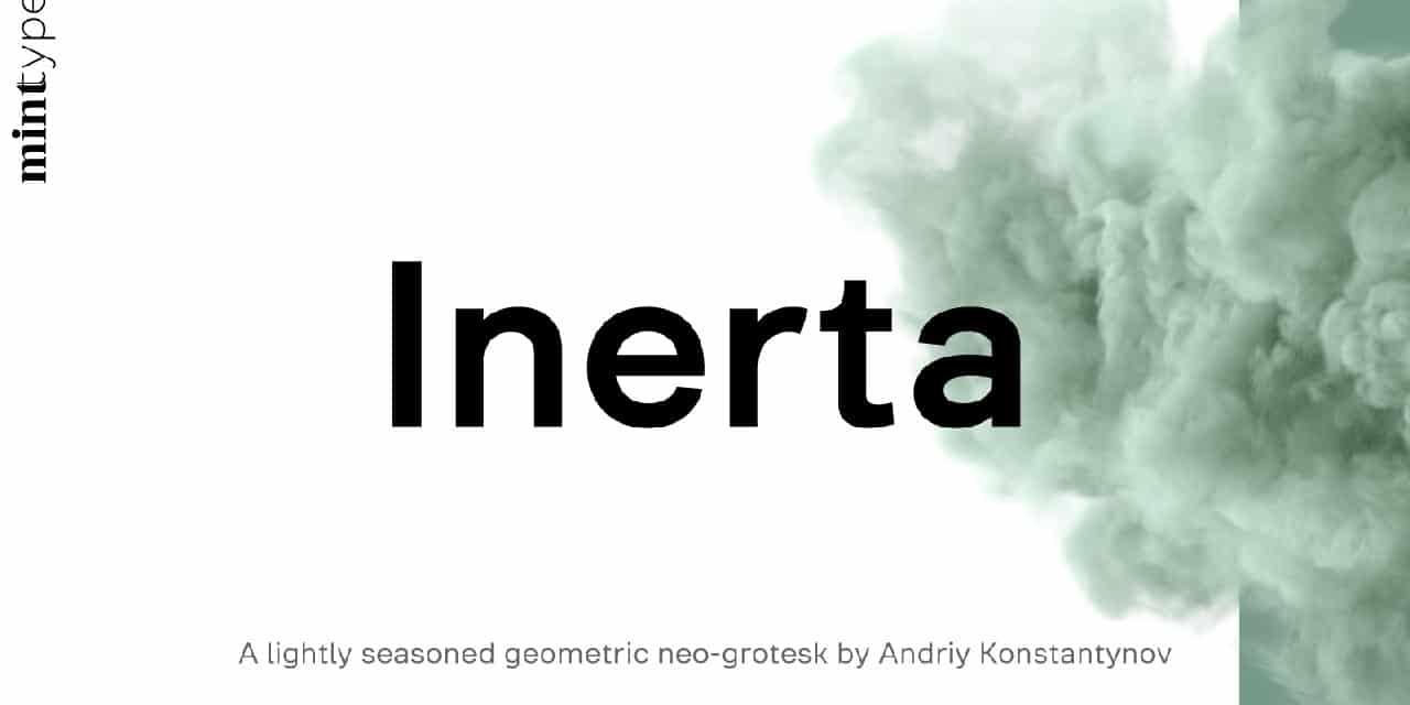 Download Inerta Light font (typeface)