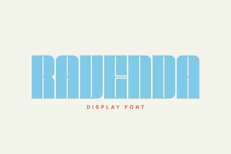 Download Ravenda font (typeface)