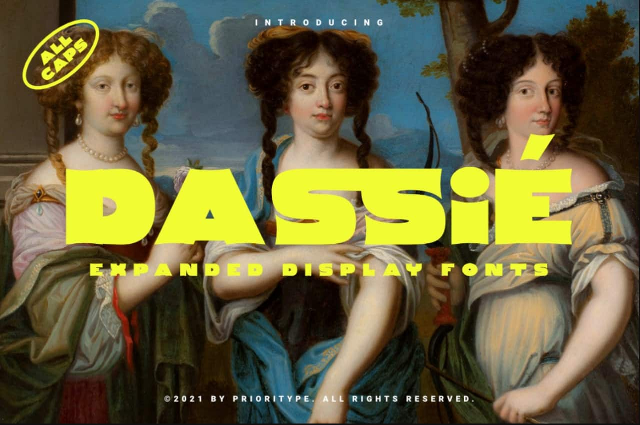 Download Dassie font (typeface)