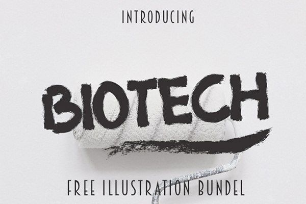 Download Biotech font (typeface)