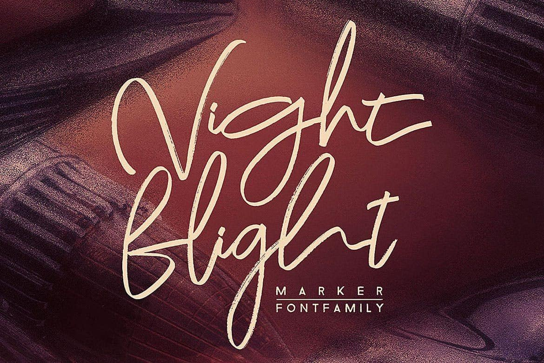 Download Night Flight font (typeface)
