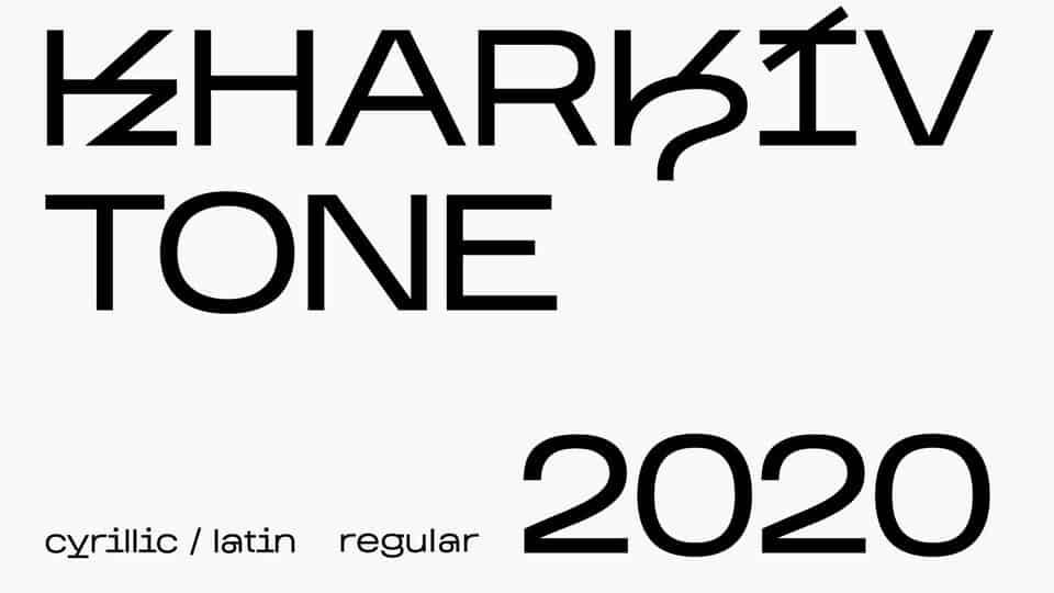 Download Kharkiv Tone font (typeface)
