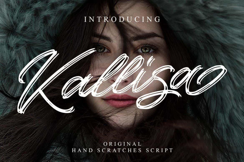 Download Kallisa font (typeface)