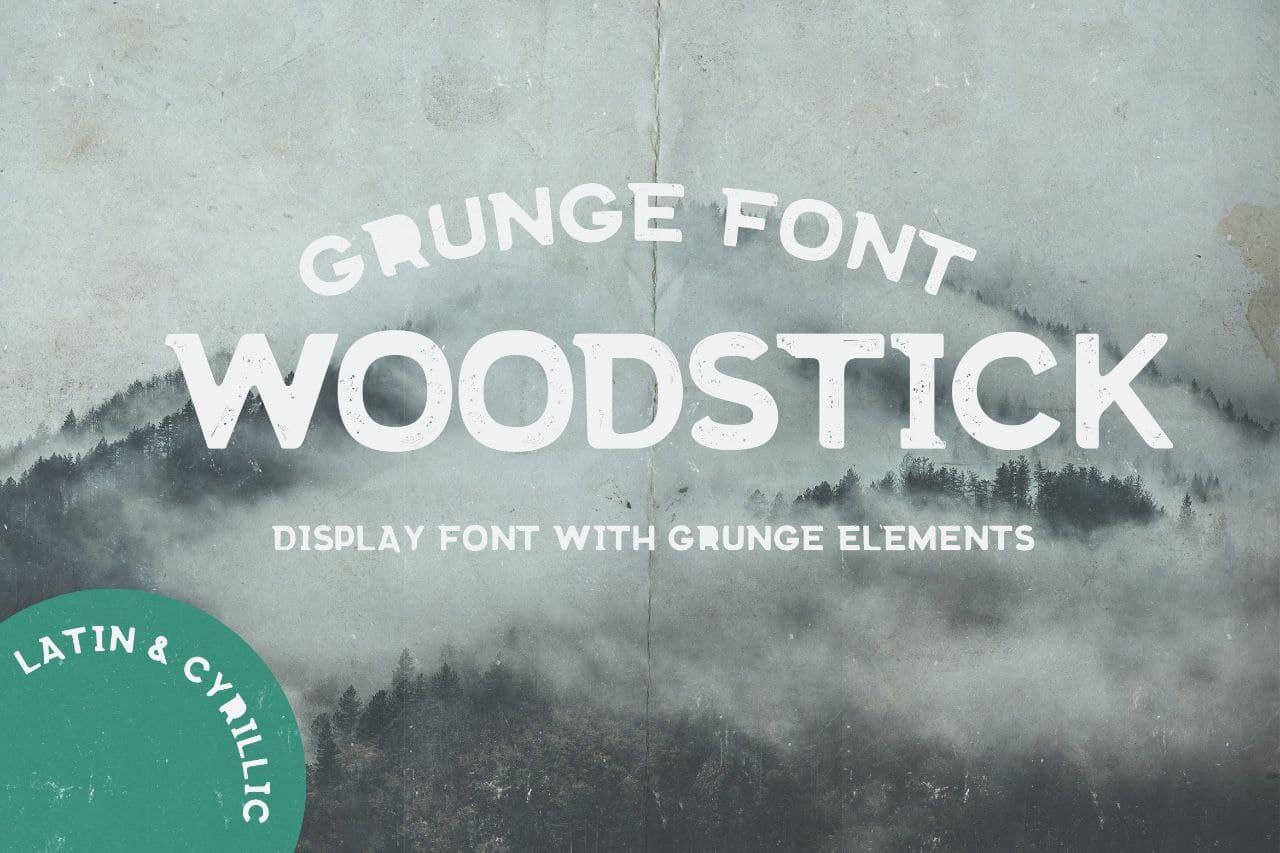Download Woodstick font (typeface)
