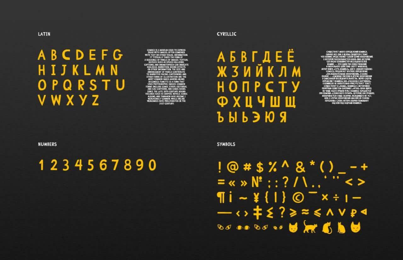 Download Comic Cat font (typeface)