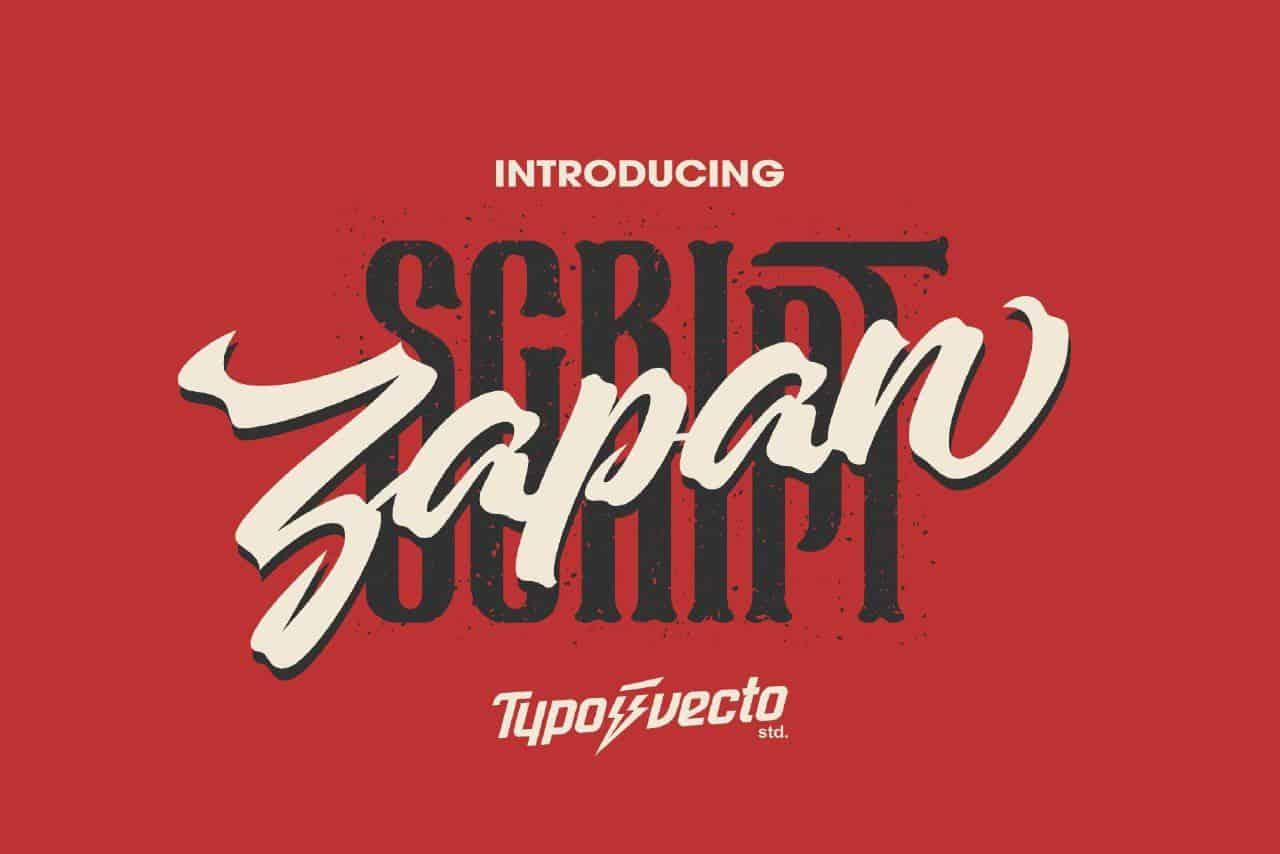 Download Zapan Script font (typeface)