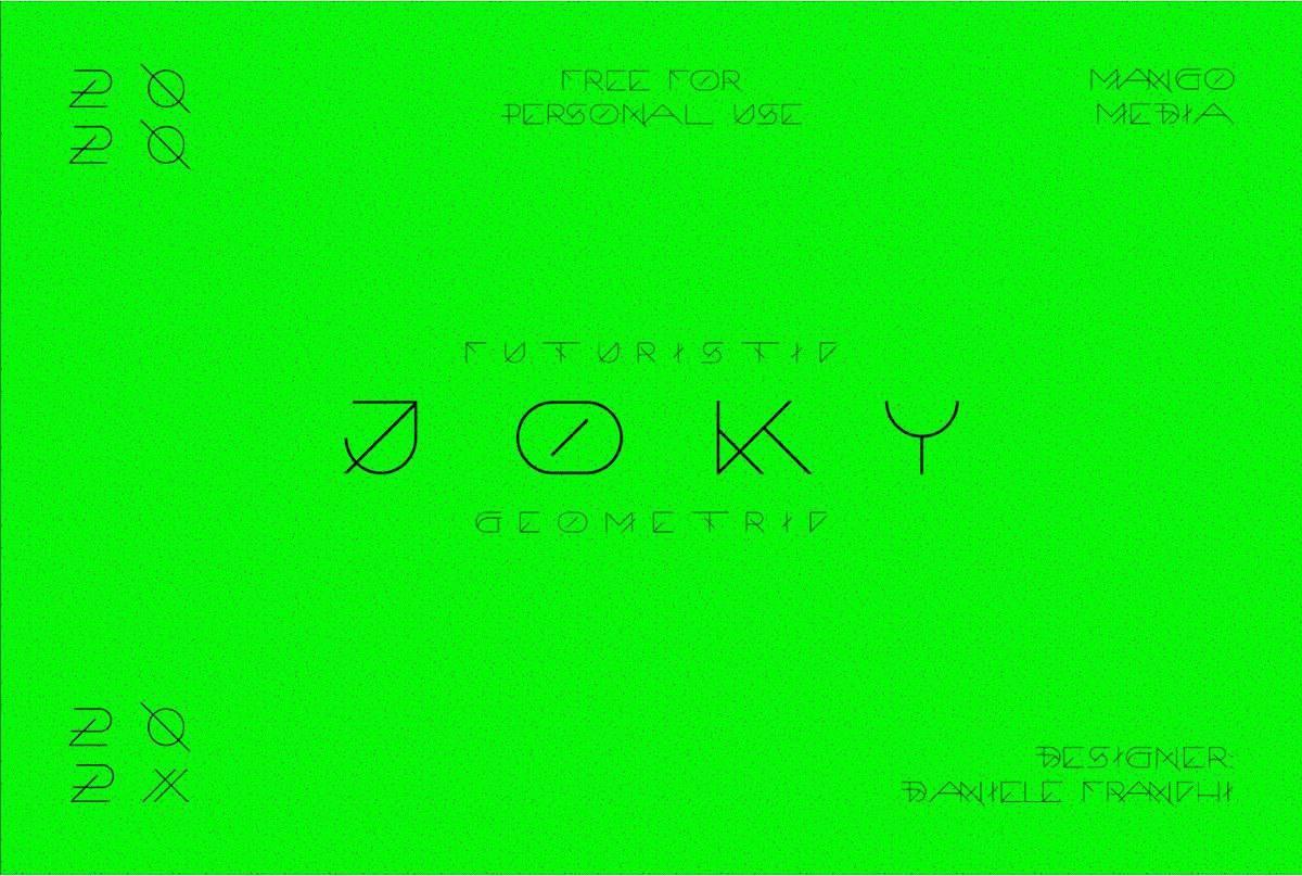 Download Joky font (typeface)