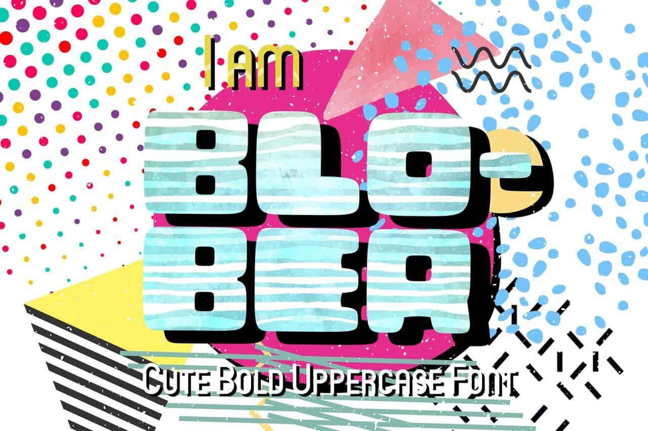 Download Blober font (typeface)