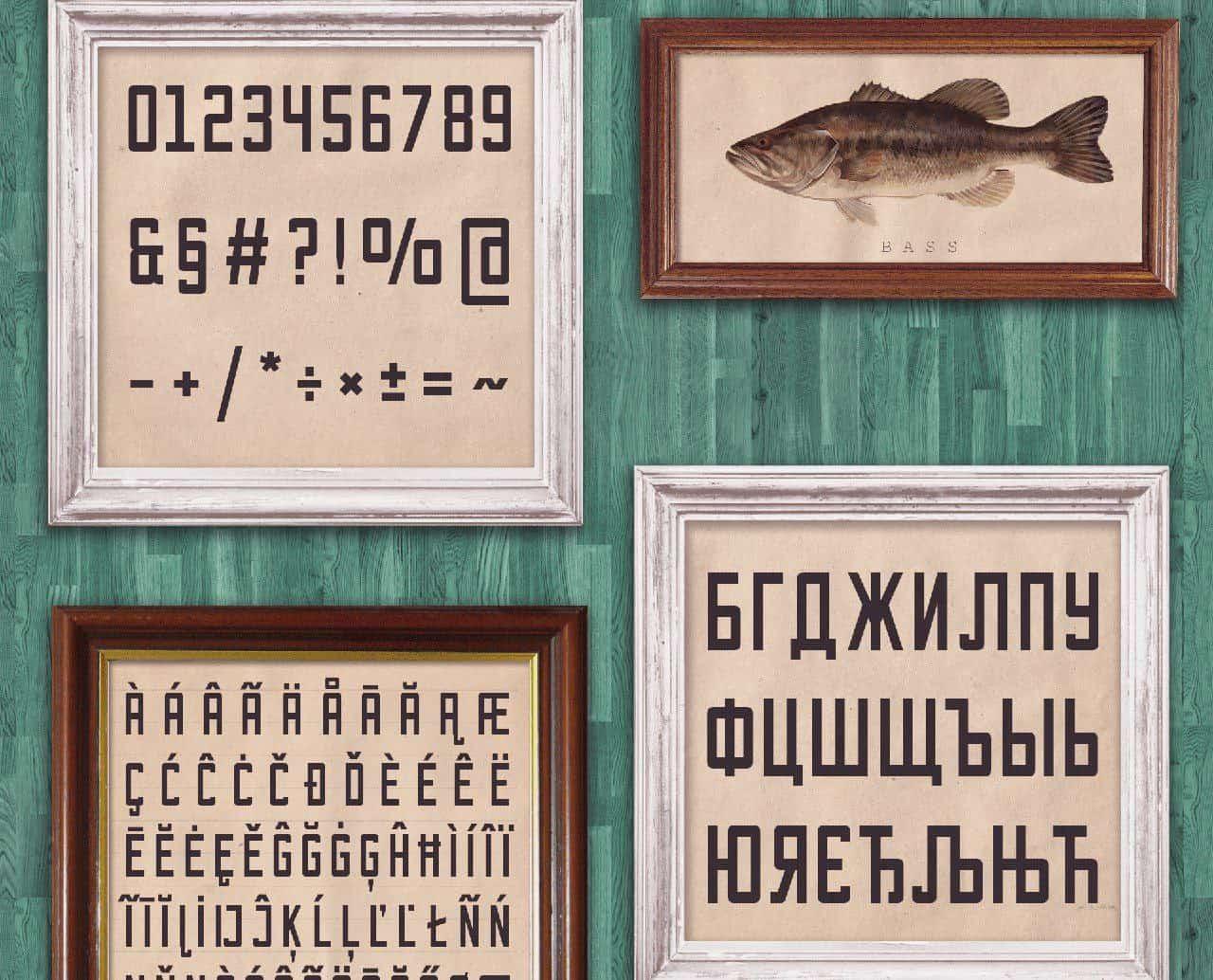 Download Bootshaus font (typeface)