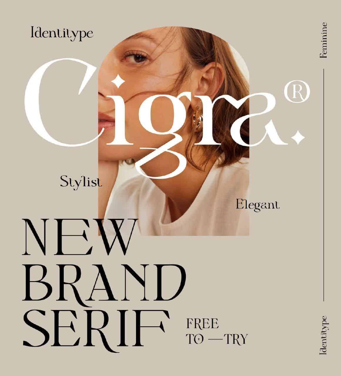Download Cigra font (typeface)
