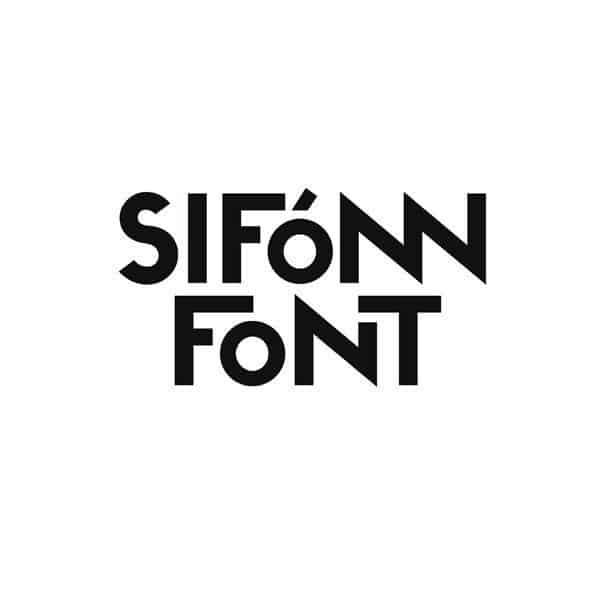 Download Sifonn font (typeface)